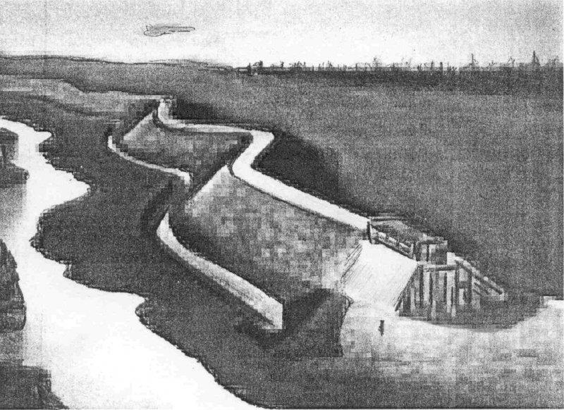 Картинки по запросу будівництво фортець по річкам Стугна