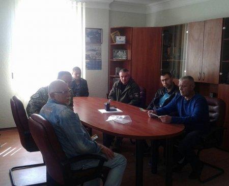 Зустріч міського голови з волонтерами