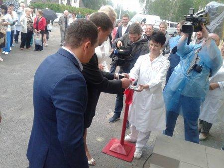 Відкриття відділення центру переливання крові  в Василькові