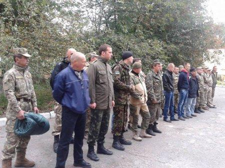 Навчальні збори з резервістами Васильківщини