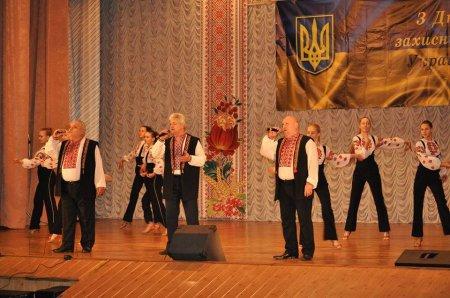 Cвятковий захід з нагоди Дня захисника України в Василькові