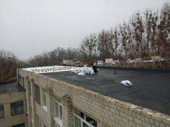Ремонтн   даху у Васильківській ЗОШ #3