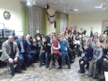 День Святого Миколая  у Васильківській  ЗОШ-інтернат І-ІІ ступенів