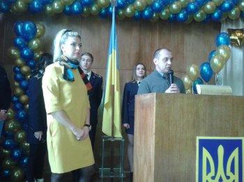 Привітання з нагоди 10-ї річниці Васильківського коледжу Національного авіаційного університету.