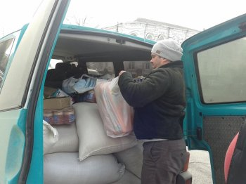 Сьогодні до Авдіївки з Василькова вирушив перший гуманітарний вантаж.