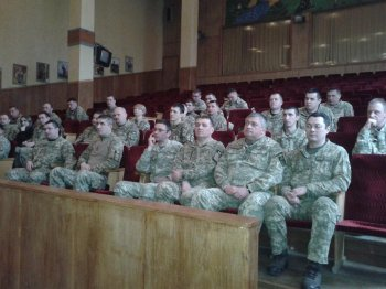 зустріч з військовослужбовцями