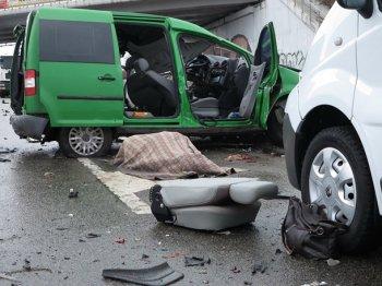 Під Васильковом зіткнулися чотири машини: є жертви