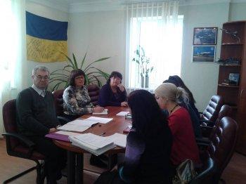 Засідання постійної комісії з питань надання матеріальної допомоги мешканцям міста Василькова.