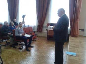 Зустріч з Удовиченком Володимиром Петровичем