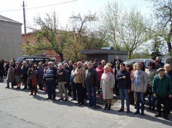 В Василькові відбулися заходи з нагоди 31-ї річниці аварії на Чорнобильській АЕС.