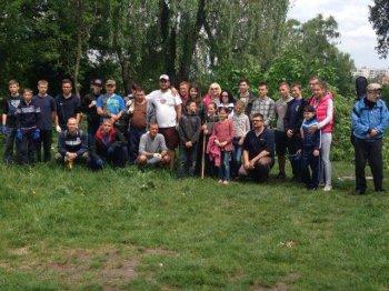 Васильківці прибрали парк відпочинку біля річки Стугна.